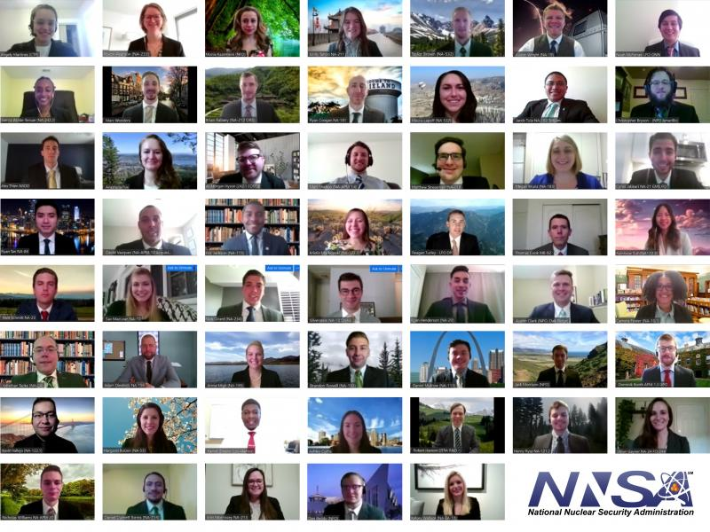 NNSA Graduate Fellowship Class of 2020 fellows